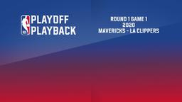 2020: Mavericks - La Clippers. Round 1 Game 1