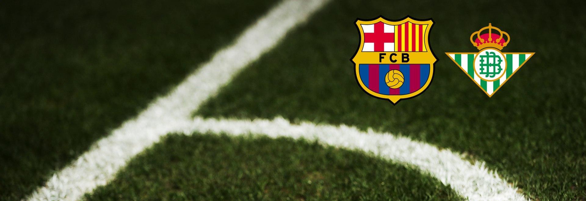 Barcellona - Real Betis. 9a g.