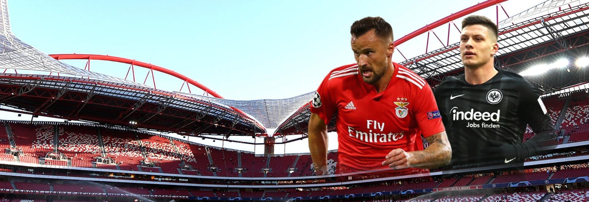 Benfica - Eintracht F.. Quarti. Andata