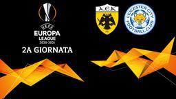 AEK Atene - Leicester. 2a g.