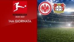 Eintracht Francoforte - Bayer Leverkusen. 14a g.