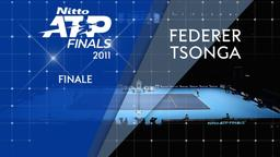 Federer - Tsonga 27/11/11. Finale