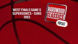 SuperSonics - Suns 1993. West Finals Game 5