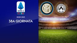 Inter - Udinese. 38a g.