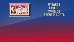 Wizards - Lakers 17/12/06 Arenas: 60pts