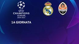 Real Madrid - Shakhtar. 1a g.