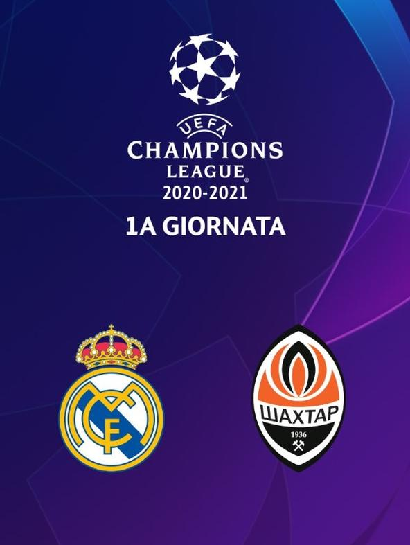 Real Madrid - Shakhtar  (diretta)