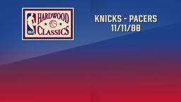 Knicks - Pacers 11/11/88