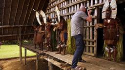 Papua Nuova Guinea, la danza del fuoco