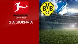 Borussia Dortmund - Hoffenheim. 21a g.