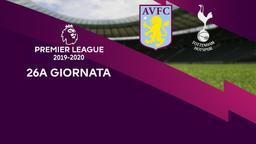 Aston Villa - Tottenham. 26a g.