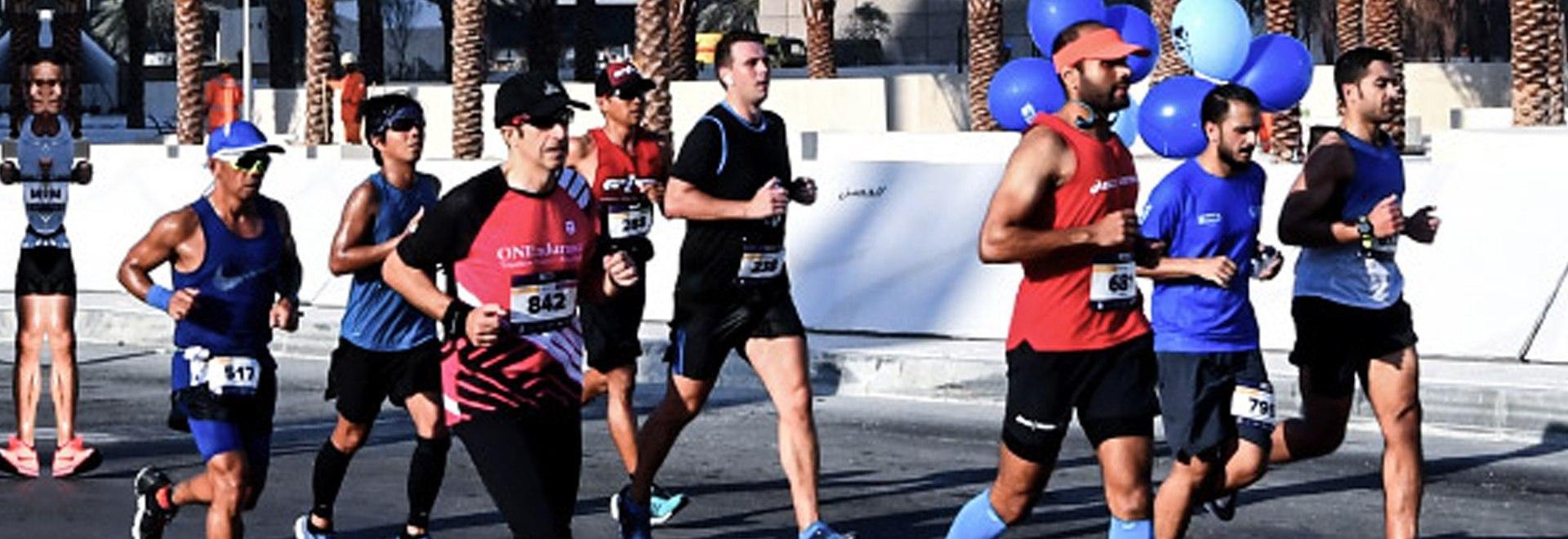 Abu Dhabi Maraton Highlights