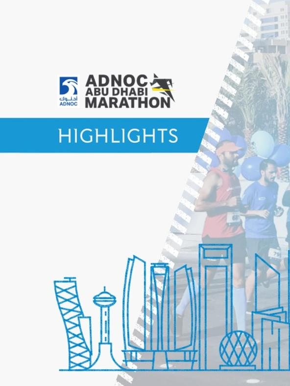 Abu Dhabi Marathon Highlights