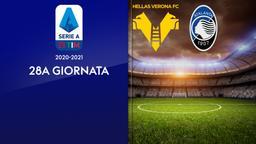 Verona - Atalanta. 28a g.