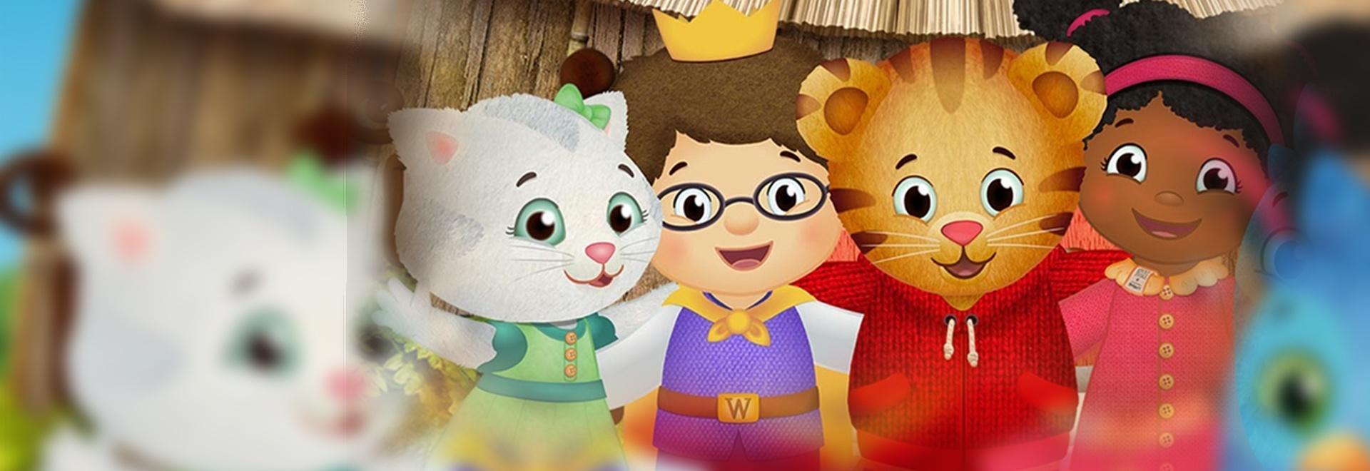 I pompieri a scuola / La bambola tigrotto di Daniel