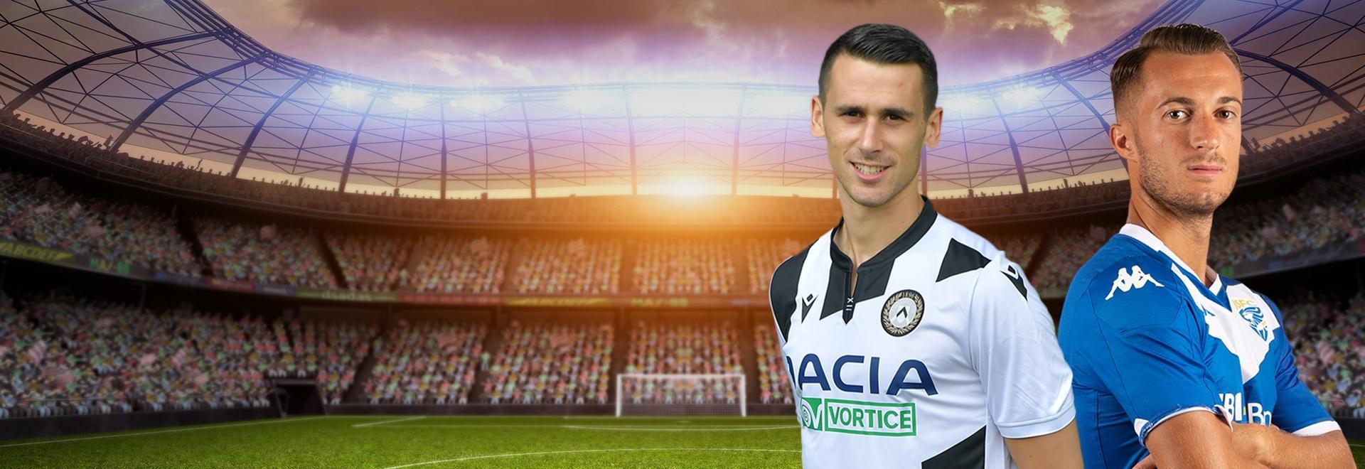 Udinese - Brescia. 4a g.