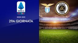 Lazio - Spezia. 29a g.