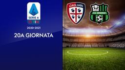 Cagliari - Sassuolo. 20a g.
