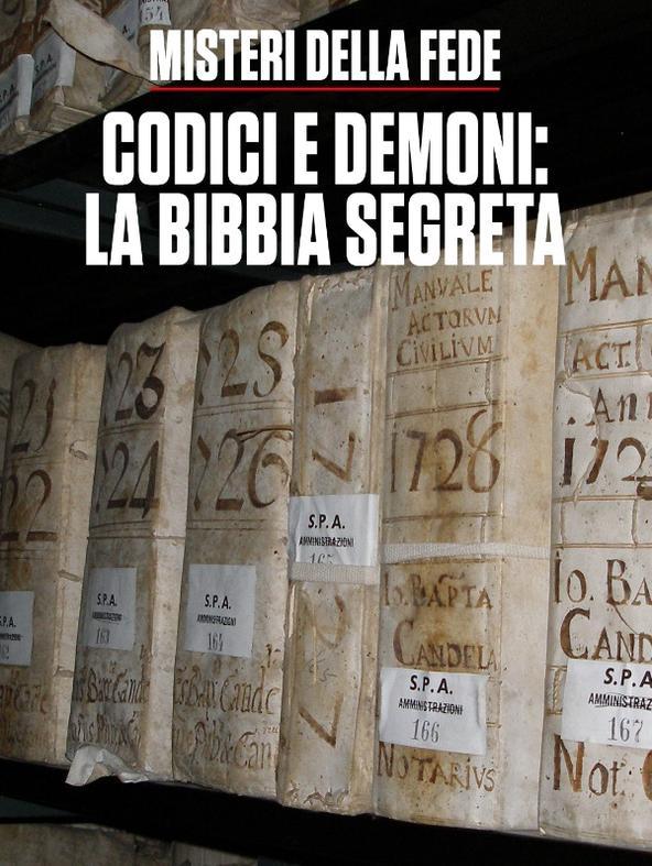 Codici e demoni: la Bibbia segreta