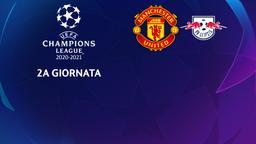 Manchester United - Lipsia. 2a g.