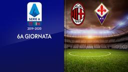 Milan - Fiorentina. 6a g.