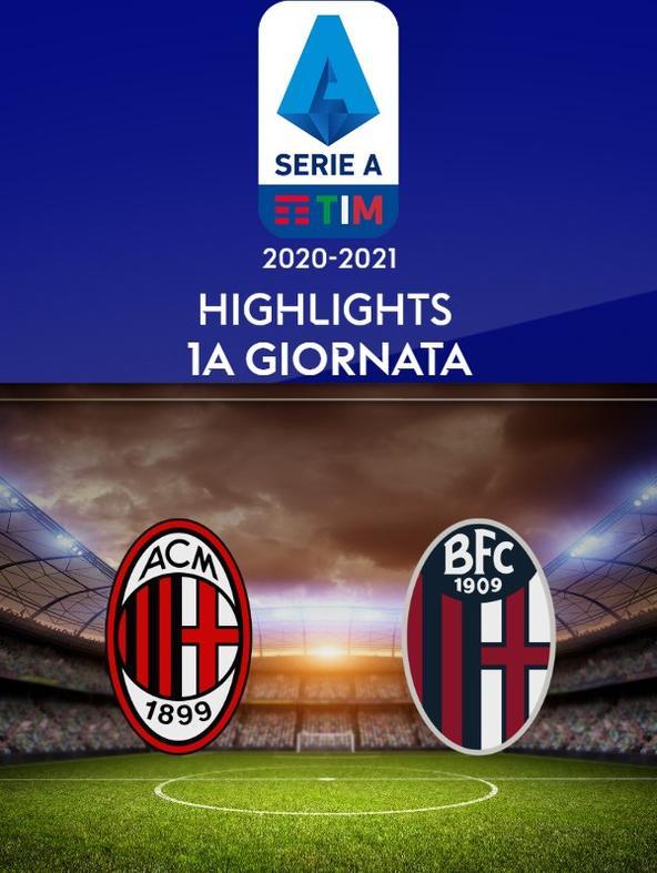 Milan - Bologna. 1a g.