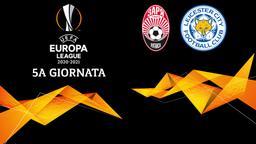 Zorya Luhansk - Leicester City. 5a g.