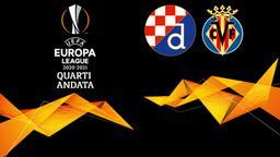 Dinamo Zagabria - Villarreal. Quarti Andata