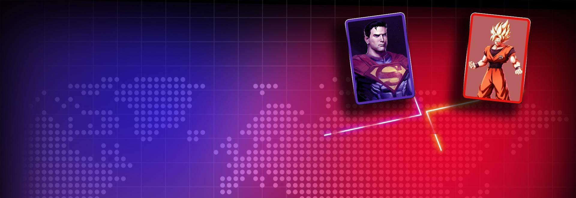 Superman vs Dragonball