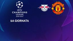 Lipsia - Manchester United. 6a g.