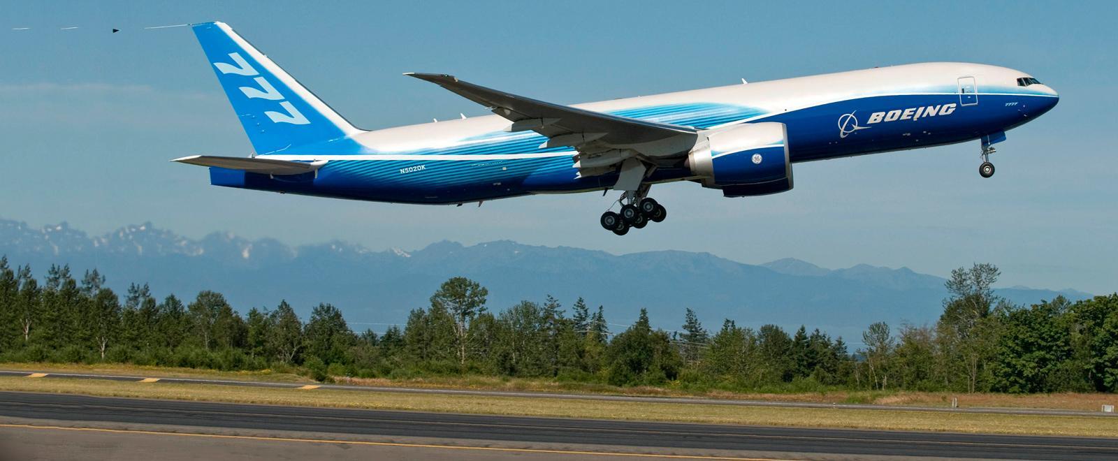 Come si smonta e rimonta un Boeing 777