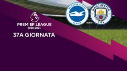 Brighton & Hove Albion - Manchester City. 37a g.