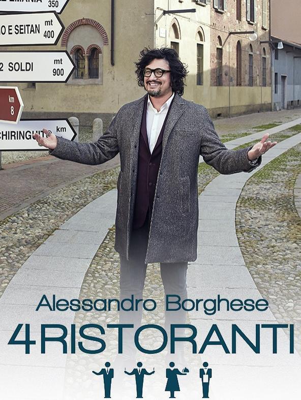 S3 Ep8 - Alessandro Borghese - 4 ristoranti