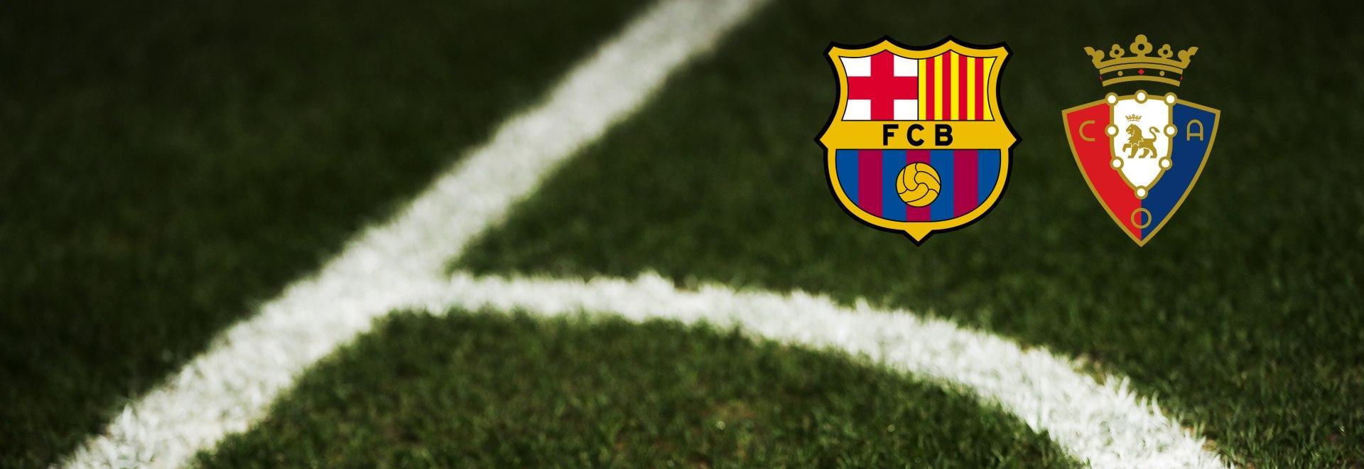 Barcelona - Osasuna. 11a g.