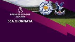 Leicester City - Crystal Palace. 33a g.