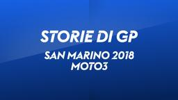 San Marino, Misano 2018. Moto3