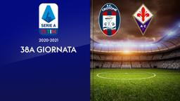 Crotone - Fiorentina. 38a g.