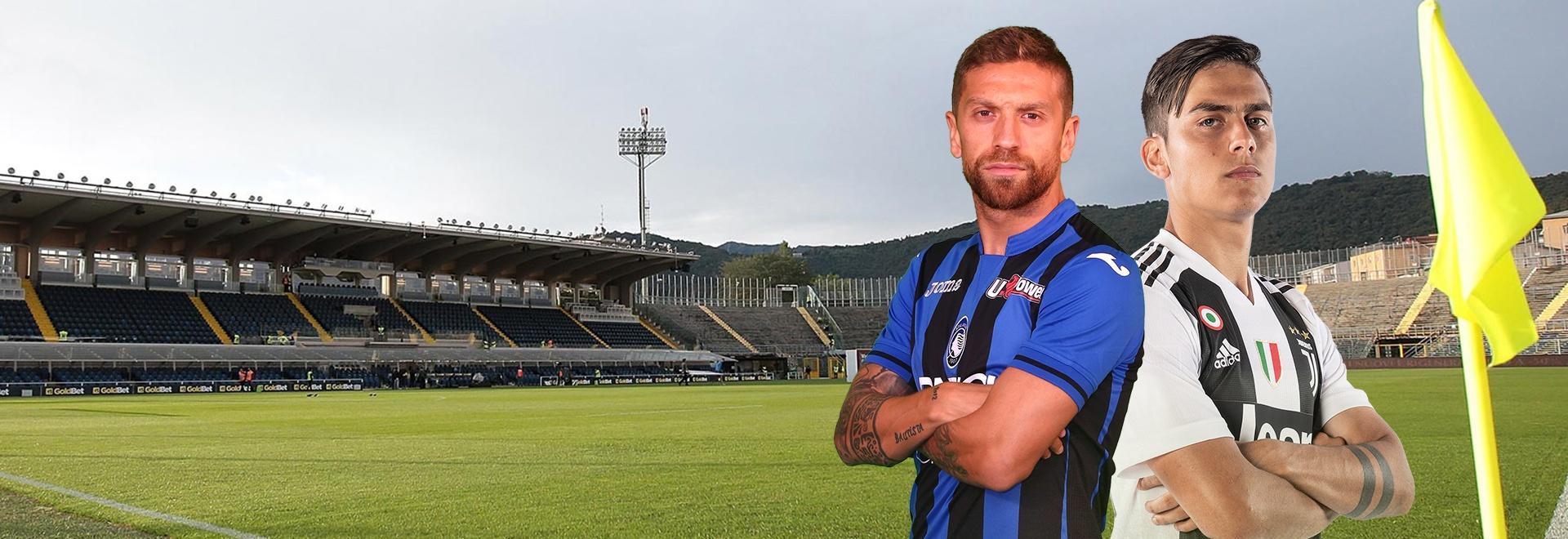 Atalanta - Juventus. 18a g.
