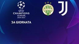 Ferencvaros - Juventus. 3a g.