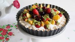 Muffin con gelato alla vaniglia