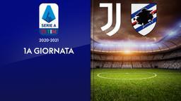 Juventus - Sampdoria. 1a g.