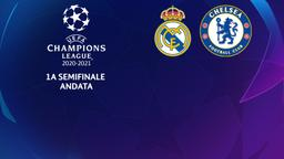 Real Madrid - Chelsea. 1a semifinale Andata