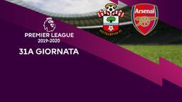 Southampton - Arsenal. 31a g.