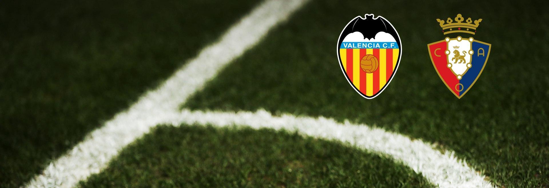 Valencia - Osasuna. 19a g.