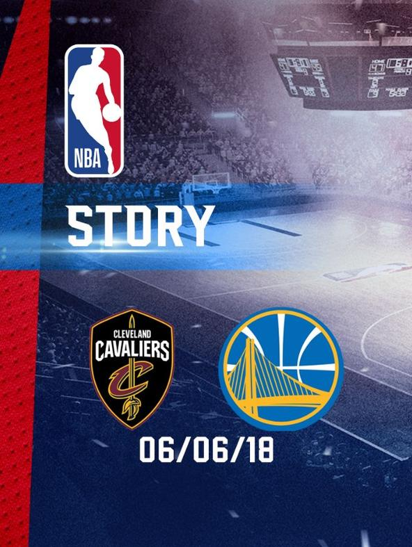 NBA: Cleveland - Golden State 06/06/18