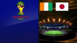 Costa d'Avorio - Giappone. Gruppo C. 1a giornata