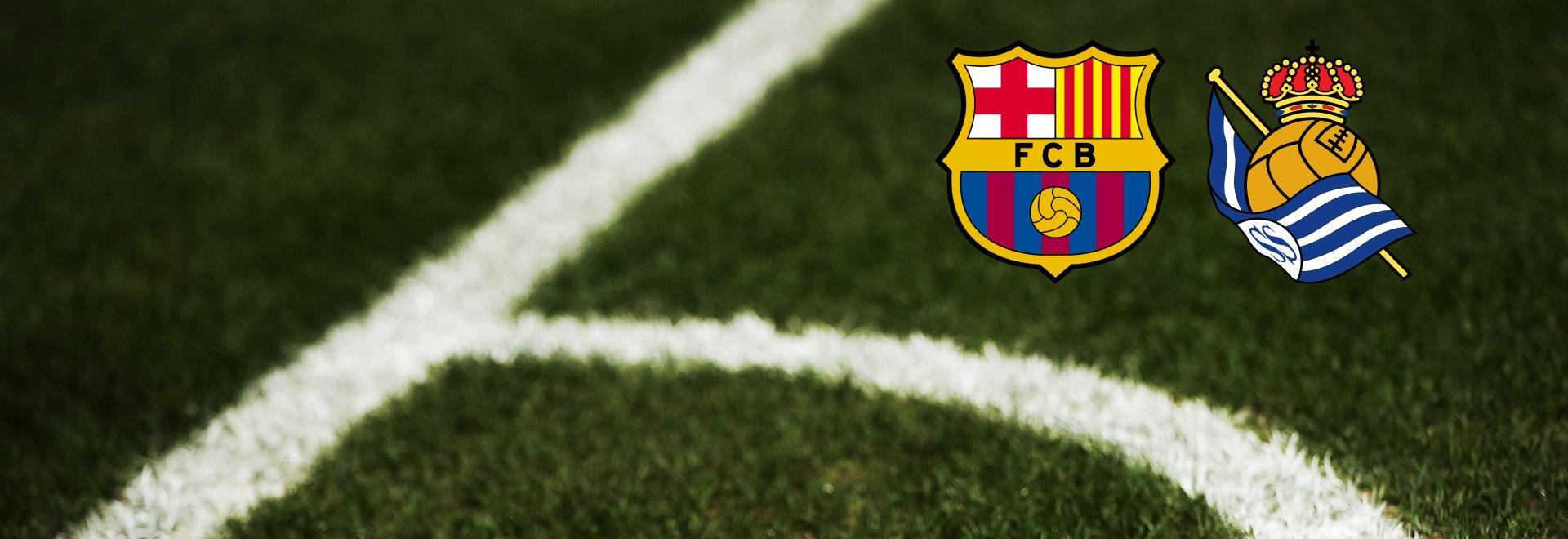 Barcellona - Real Sociedad. 27a g.