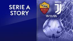 Roma - Juventus 19/11/05. 12a g.