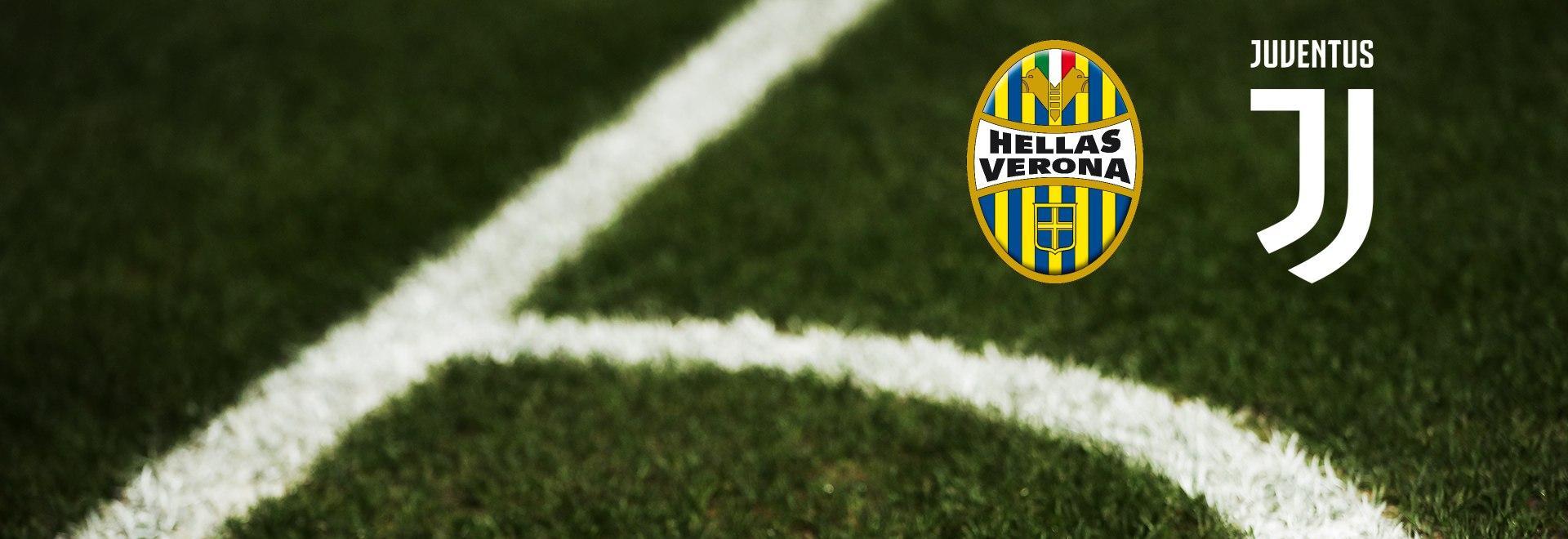 Verona - Juventus. 23a g.