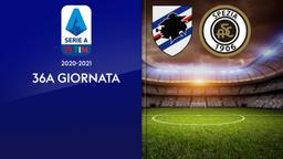 Sampdoria - Spezia. 36a g.